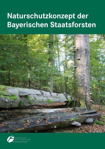 Naturschutzkonzept der Bayerischen Staatsforsten - Bayerische ...
