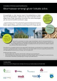 Biomasse-energi giver lokale jobs
