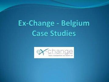 Case Studies - Ex-Change