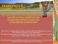 Klik hier voor 57e editie maart 2013 - Indo Privé