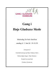 Gang i Høje Gladsaxe Skole - Gladsaxe Kommune