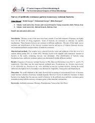 Survey of antibiotic resistance pattern in mercury resistant bacteria