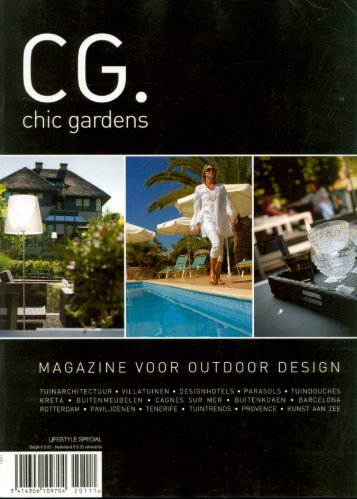 CHIC GARDENS - magazine voor outdoor design ... - Stijn Cornilly
