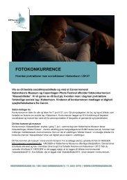 FOTOKONKURRENCE - Copenhagen Photo Festival
