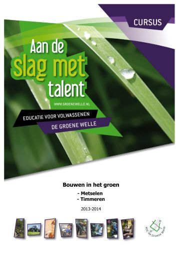 Download brochure - De Groene Welle