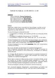 Referat fra møde pr. 21-09-2003 kl. 11:00 - Ejerforeningen EF1386
