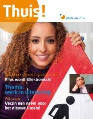 Thema: werk in uitvoering - Proteion Thuis