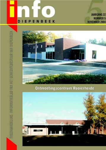 Info 5 november 2004 Web - Gemeente Diepenbeek