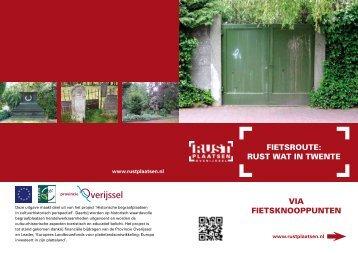 Rust wat in Twente - Langs Heilige Huisjes Twente