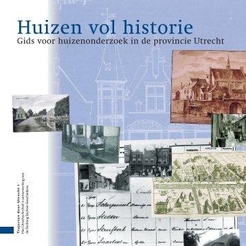 Huizen vol historie - Het Utrechts Archief