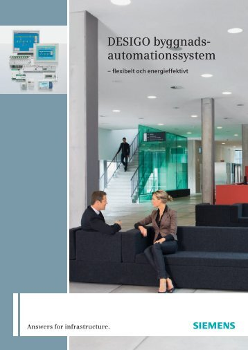 DESIGO byggnads- automationssystem - Industry - Siemens