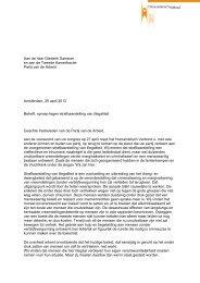 Oproep aan de PvdA: Voorkom strafbaarstelling illegaliteit