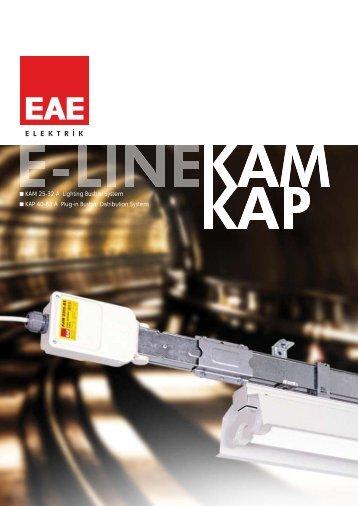 E-Line KAM / KAP - EAE Elektrik
