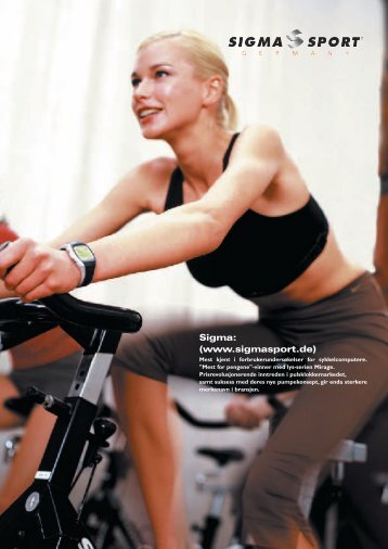 Sigma: (www.sigmasport.de) - Sportpartner