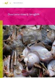 Rapport Duurzame visserij: terugblik - Algemene Rekenkamer