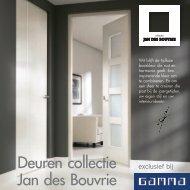 Deuren collectie Jan des Bouvrie - Gamma