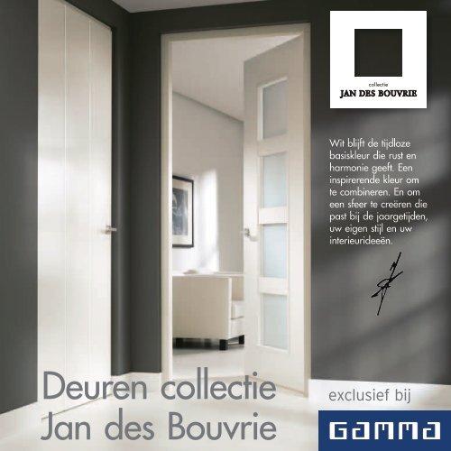 Deuren Collectie Jan Des Bouvrie Gamma