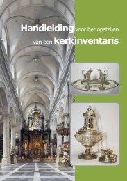 Handleiding voor het opstellen van een kerkinventaris - Erfgoedplus