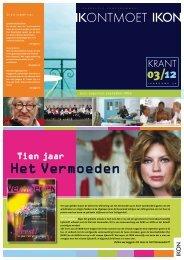Bekijk de nieuwste IKON-krant! (PDF)