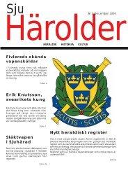Sju Härolder - Svenska Heraldiska Föreningen