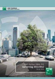 Jaarverslag - OBAM - BNP Paribas Investment Partners
