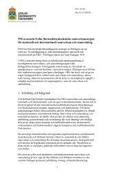 FBA:s samverkansorgan för nationell och internationell samverkan