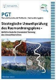 1.4 Nichttechnische Zusammenfassung des Umweltberichtes