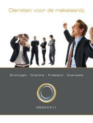 Diensten voor de makelaardij - MMAXX.nl