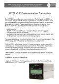 Dittel-Avionik-Funkgeräte und Transponder - Seite 2