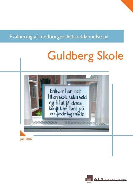 Evaluering Guldberg Skole final test - Als Research