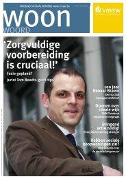 Woonwoord nr 12 (pdf - 2,5 Mb) - Vlaamse Maatschappij voor ...