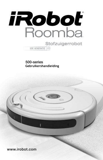 Roomba 500-600 Handboek NL (PDF) - iRobot Belgium