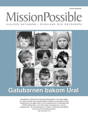 Gatubarnen bakom Ural Gatubarnen bakom Ural - Mission Possible