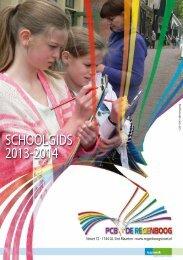 Schoolgids - PCB de Regenboog