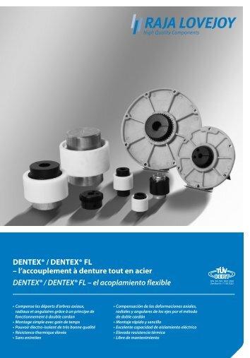 DENTEX® / DENTEX® FL – l'accouplement à denture tout en acier ...