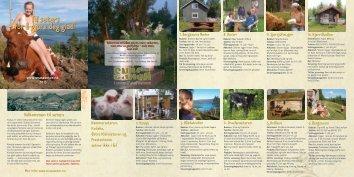 Brosjyre 2013 - Snåsa Seterlag