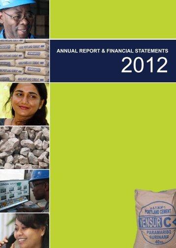 Annual Report Vensur 2012 - Kersten