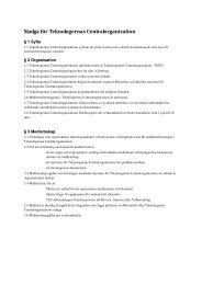 Stadga för Teknologernas Centralorganisation