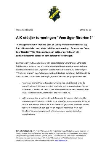 2013-06-28 PM Vem äger förorten.pdf - AIK Fotboll