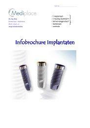 Infobrochure Implantaten Infobrochure Implantaten