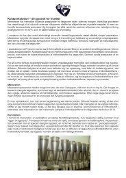 Læs mere om fremstillingsmetoden koldperkolation. - Biosym A/S