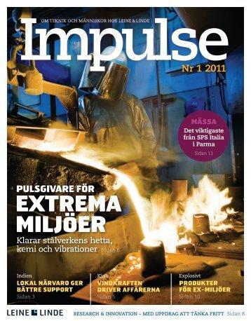 Impulse nr 1 - 2011 (PDF) - Leine & Linde