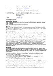 Commissie Stedelijke Ontwikkeling Op verzoek ... - Gemeente Utrecht
