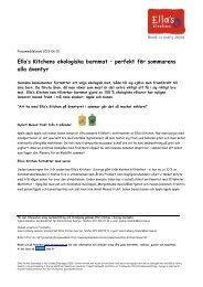 Ella's Kitchens ekologiska barnmat – perfekt för ... - Mynewsdesk