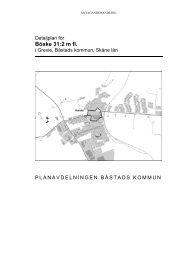 Antagande Planbeskrivning Böske 31 2 - Båstads kommun