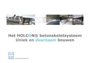 HOLCON voor de aannemer