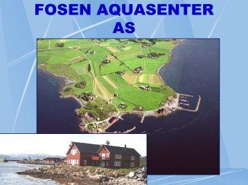 Fosen Aquasenter as