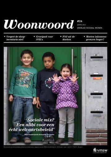 Woonwoord nr. 24 - Vlaamse Maatschappij voor Sociaal Wonen