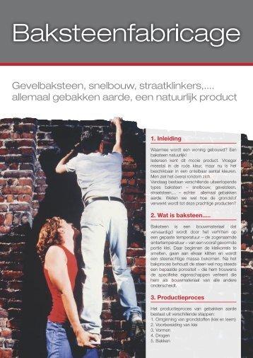 Baksteenfabricage - Belgische Baksteenfederatie