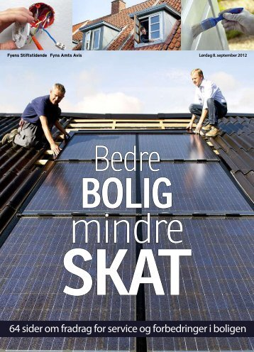 64 sider om fradrag for service og forbedringer i boligen - Solarglas